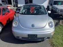 2002 Volkswagen  SOFT TOP VW BEETLE LOW KMS FOR THE YEAR