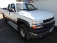 2001 Chevrolet  HARD TO FIND 2500 2YEAR ALMOST BUMPERTOB